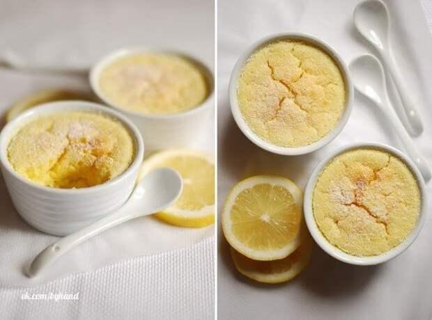 ДЕСЕРТНЫЙ ВИХРЬ. Лимонный пудинг