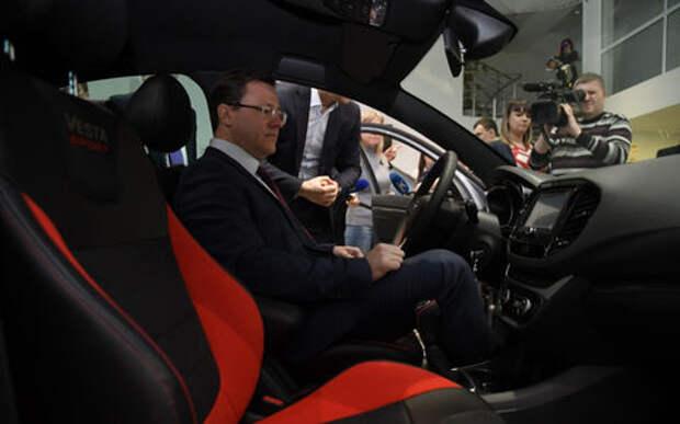 Первая Lada Vesta Sport досталась губернатору Самарской области