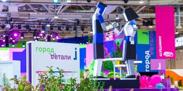 Сергунина: Международная выставка «Город: детали» впервые пройдет в онлайн-формате. Фото: М. Мишин mos.ru