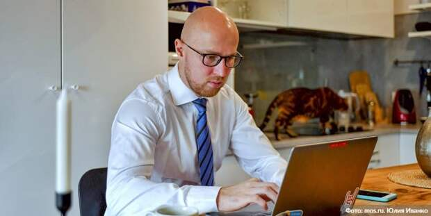 Жириновский подал заявление на онлайн-голосование на сентябрьских выборах. Фото: Ю. Иванко mos.ru