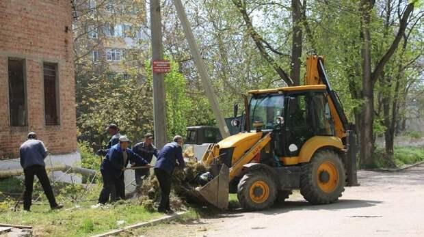 В Керчи началось благоустройство по обращениям жителей