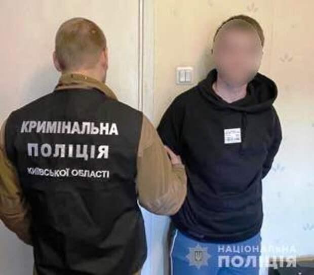 В Киевской области мужчина убил знакомого. Появилось видео