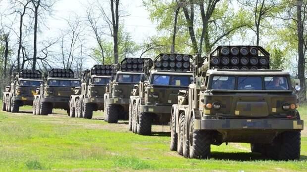 Украина развернула на границе с Крымом РСЗО «Ураган»