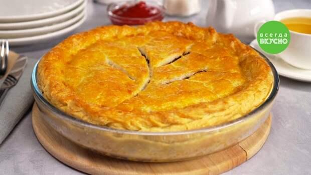 Туртьер — вкусный мясной пирог