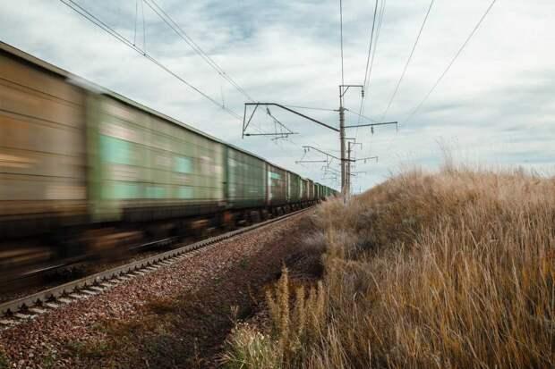 Погрузка на железной дороге в Красноярском крае выросла на 1,7% январе-апреле