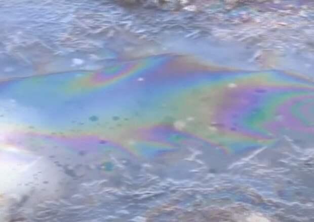 В ЯНАО произошел крупный разлив нефти