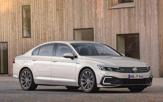 Обновленный VW Passat для Европы стал технологичнее и умнее