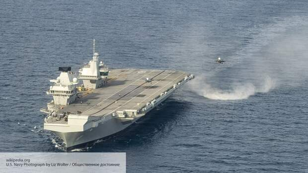 Baijiahao: Великобритания ошиблась и подставила свой авианосец под удар России