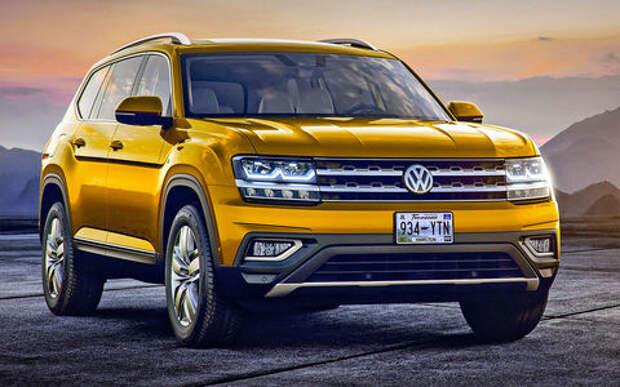 Новый Volkswagen Atlas: ждем «американца» в России!