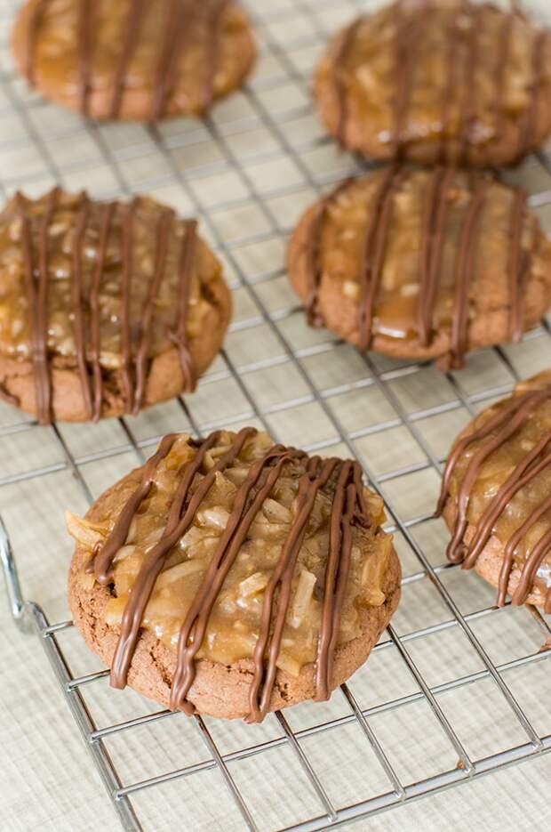 Немецкое шоколадное печенье без выпекания