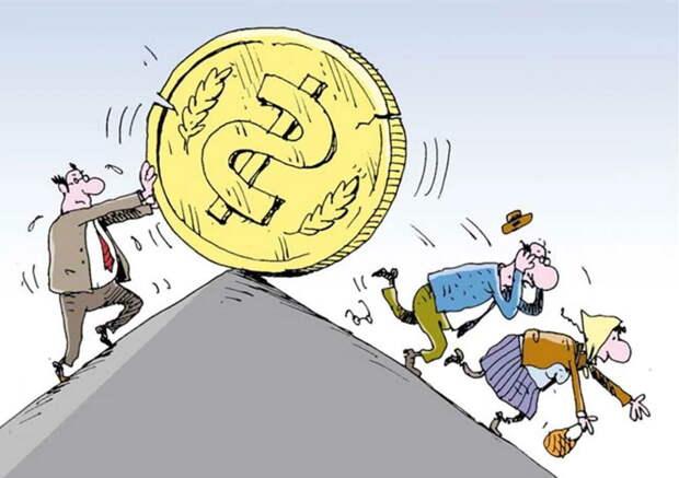 Рубль продолжил укрепление на этой недели, стоимость доллара приблизилась к 72 рублям