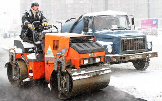 Ремонт дорог зимой? Это возможно, утверждают в ОНФ