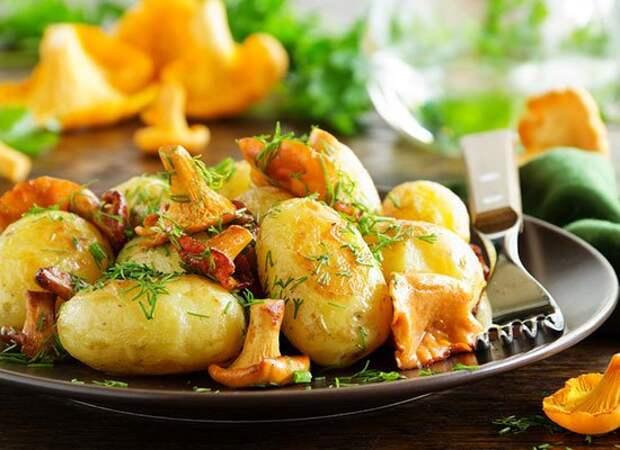 Detox Rezept: Gemischte Pilze mit Petersilienkartoffeln   cooknsoul.de