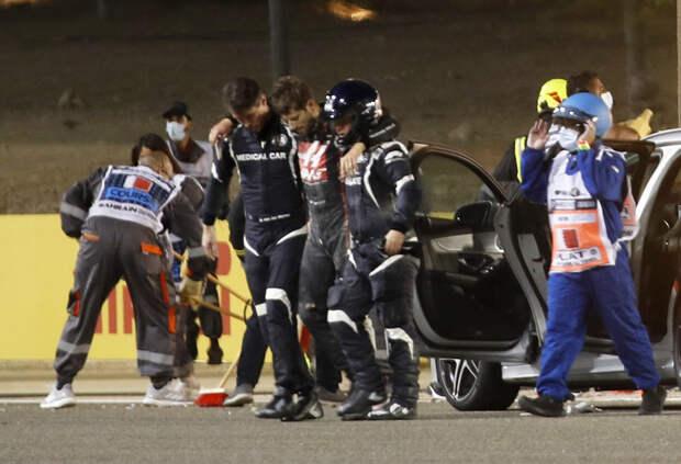 192 км/ч и 67G. FIA опубликовала отчет расследования аварии Ромена Грожана