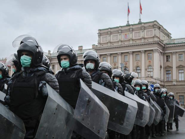 Бастрыкин: Костяк участников протестов в Петербурге составили безработные, «злые» приезжие и школьники