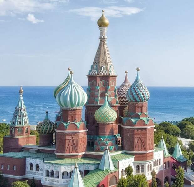 Московский Кремль нашли в Турции (фото)