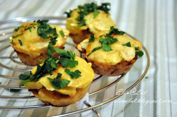 Посидим, поедим...Цветную капусту, запеченную с картофелем