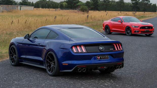 Апгрейд по-австралийски: Ford Mustang модифицировали в стране Down Under