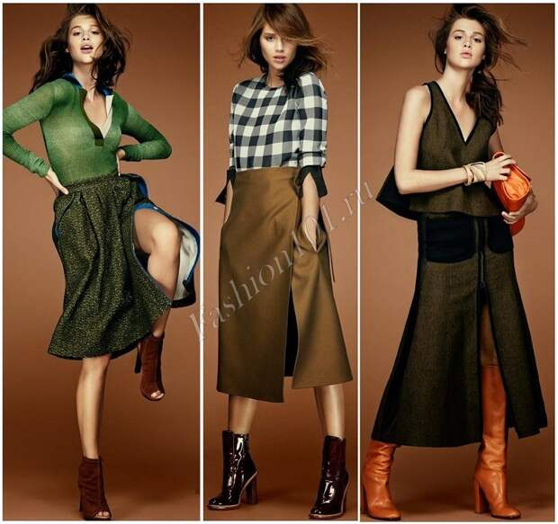 юбки в стиле 70-х