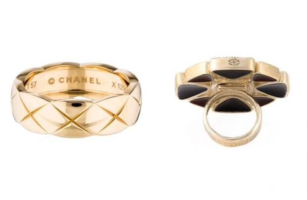 кольцо шанель