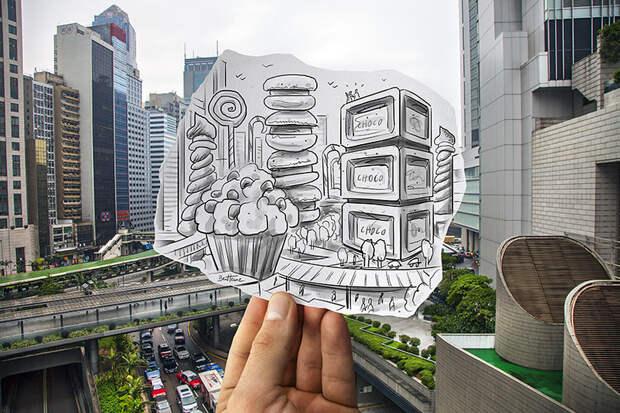 Pencil Vs Camera (Study in Hong Kong)