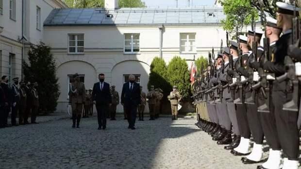 Министры обороны Литвы иПольши подписали соглашение