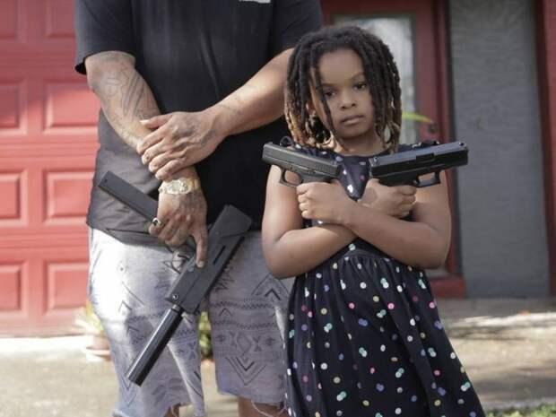 Черные с оружием в США готовы «отвоевать» Техас