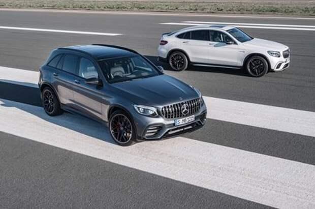 Озверин и адреналин: Mercedes-AMG представил сумасшедшие кроссоверы
