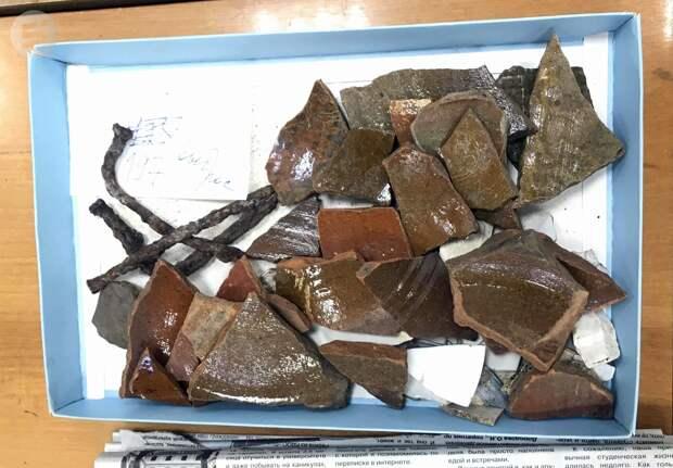 Археологи рассказали о восстановлении керамических изделий, найденных при раскопках в Ижевске