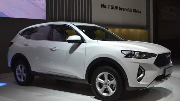 Самым продаваемым в России китайским автомобилем стал Haval F7