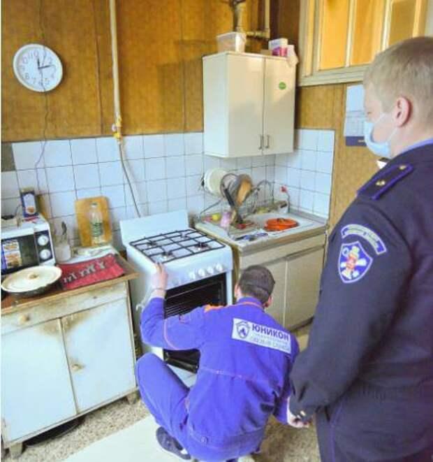 Газовое оборудование в домах ветеранов проверили в Люберцах и Раменском