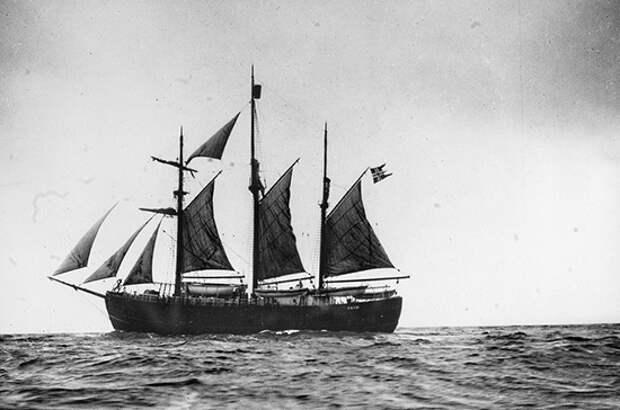 108 лет назад Руаль Амундсен достиг Южного полюса