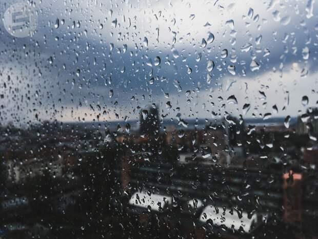 Первые дни мая в Удмуртии будут дождливыми и ветреными