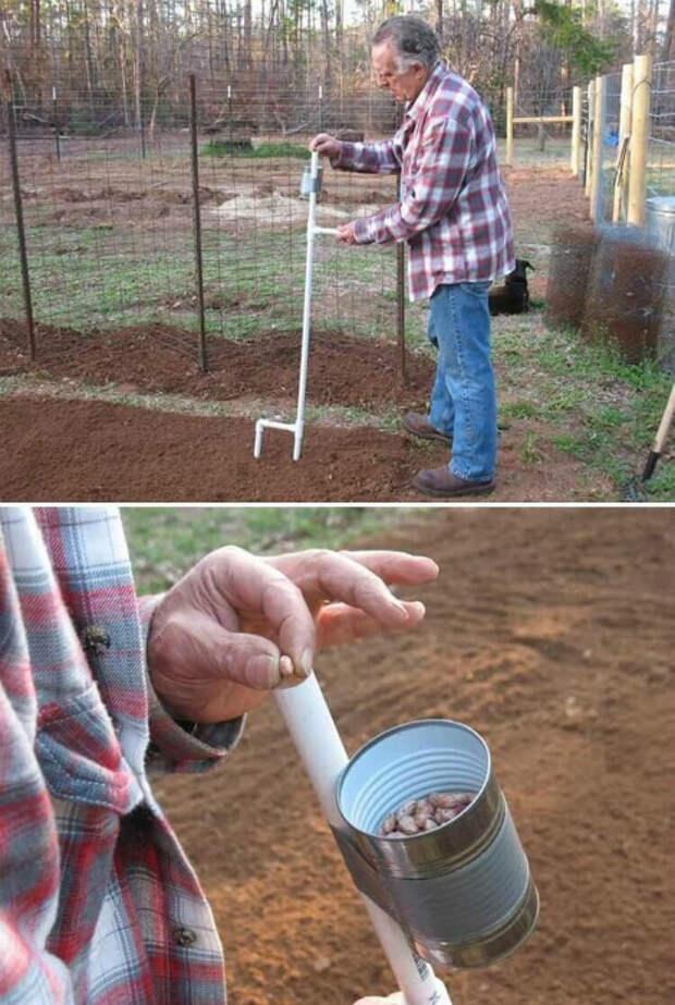 Устройство для посадки семян. | Фото: Чебуратор.