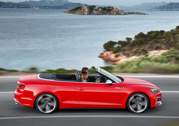 Кабриолеты Audi A5 и S5 не приедут в Россию из-за системы ЭРА-ГЛОНАСС