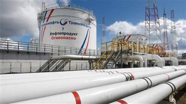 """""""Транснефть"""" планирует увеличить прокачку нефти и нефтепродуктов за 2021 год на 1%"""