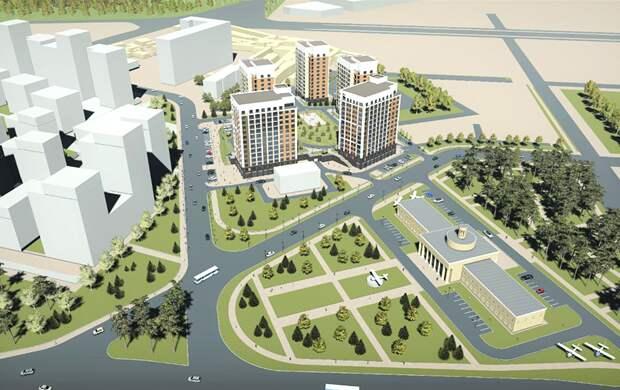 Городской аэропорт станет жилым