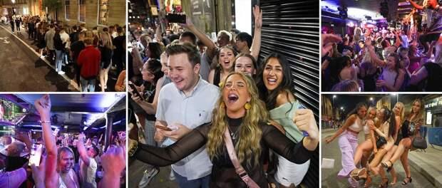 День свободы: в Великобритании вновь открылись ночные клубы
