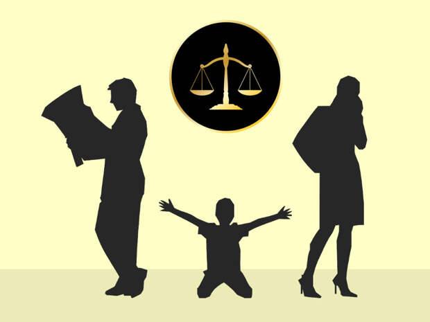 ВС РФ разъяснил, что делать, если и мать, и отец после развода отказываются жить с ребенком (изображение: коллаж с использованием иллюстраций от pixabay.com)