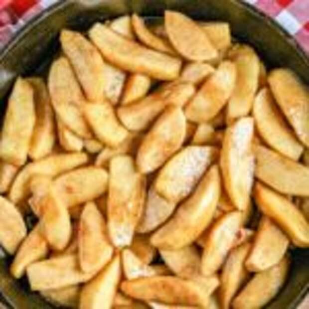 Яблочный пирог за 20 минут без выпечки, быстро и просто