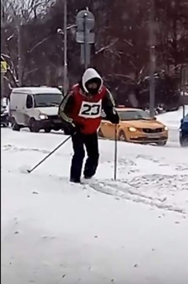 В Войковском запущен «лжетрамвай №23»