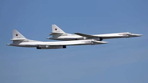 Два российских бомбардировщика выполнили 8-часовой полет над Балтикой