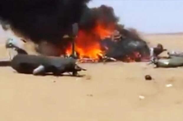 На северо-востоке Сирии сбит американский вертолет