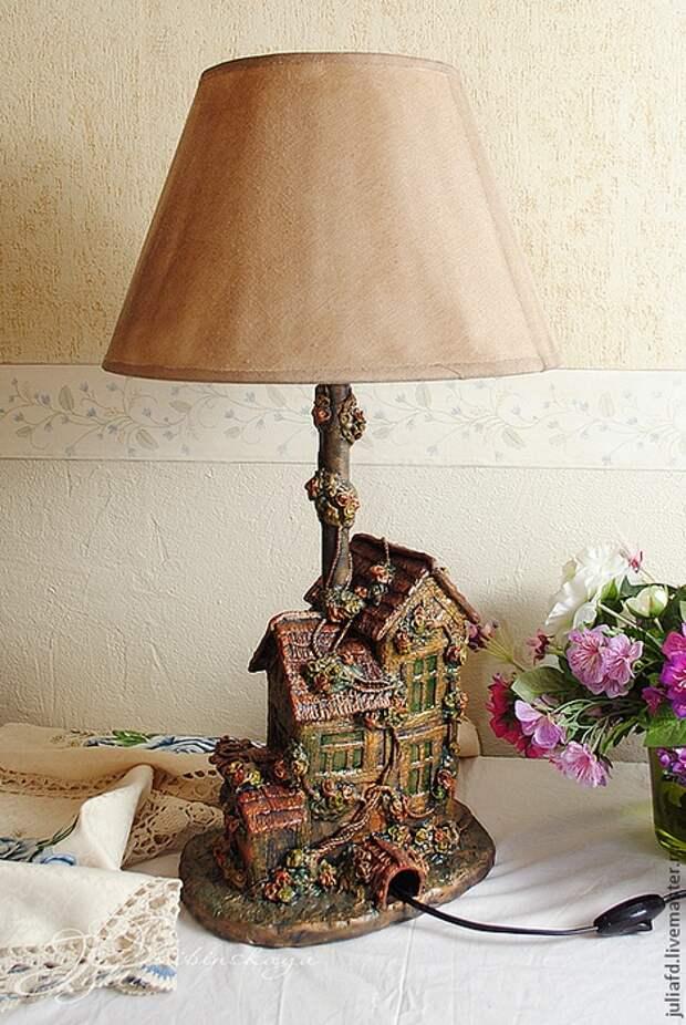 Лампа из мусора (Diy)