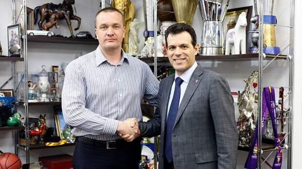 ЦСКА объявил о продлении контракта с Итудисом