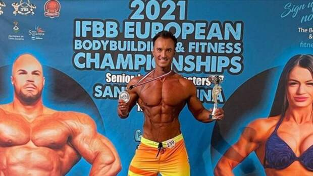 Барнаулец стал вице-чемпионом Европы по бодибилдингу