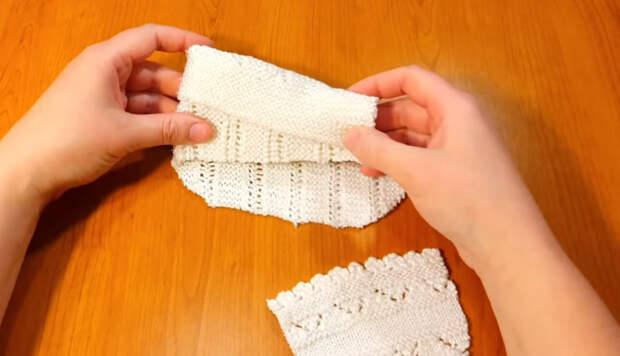 Креативный мастер-класс по переделке вязанной кофты: нужно всего 2 шва