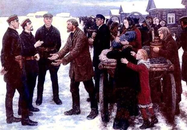 Большевики против крестьян, зачем турнули буржуев и как рабочие питались при Сталине