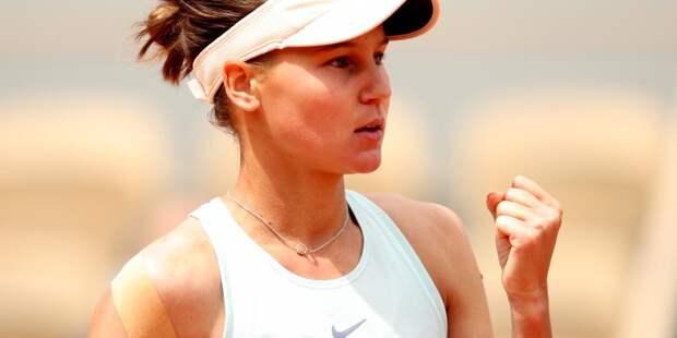 Теннисистка Кудерметова поднялась в рейтинге