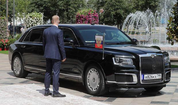 Гос.номер В.В. Путина. Смотрим, какие авто он украшал